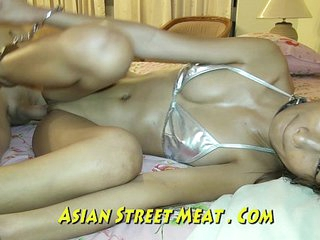 Super Sexy Silver Asian