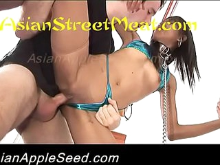 Bum Fucked Asian Beach Babe Strapped And Chained